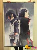 Home Decor Wall poster Scroll Naruto Akatsuki Orochimaru uchiha madara Sasuke Ne