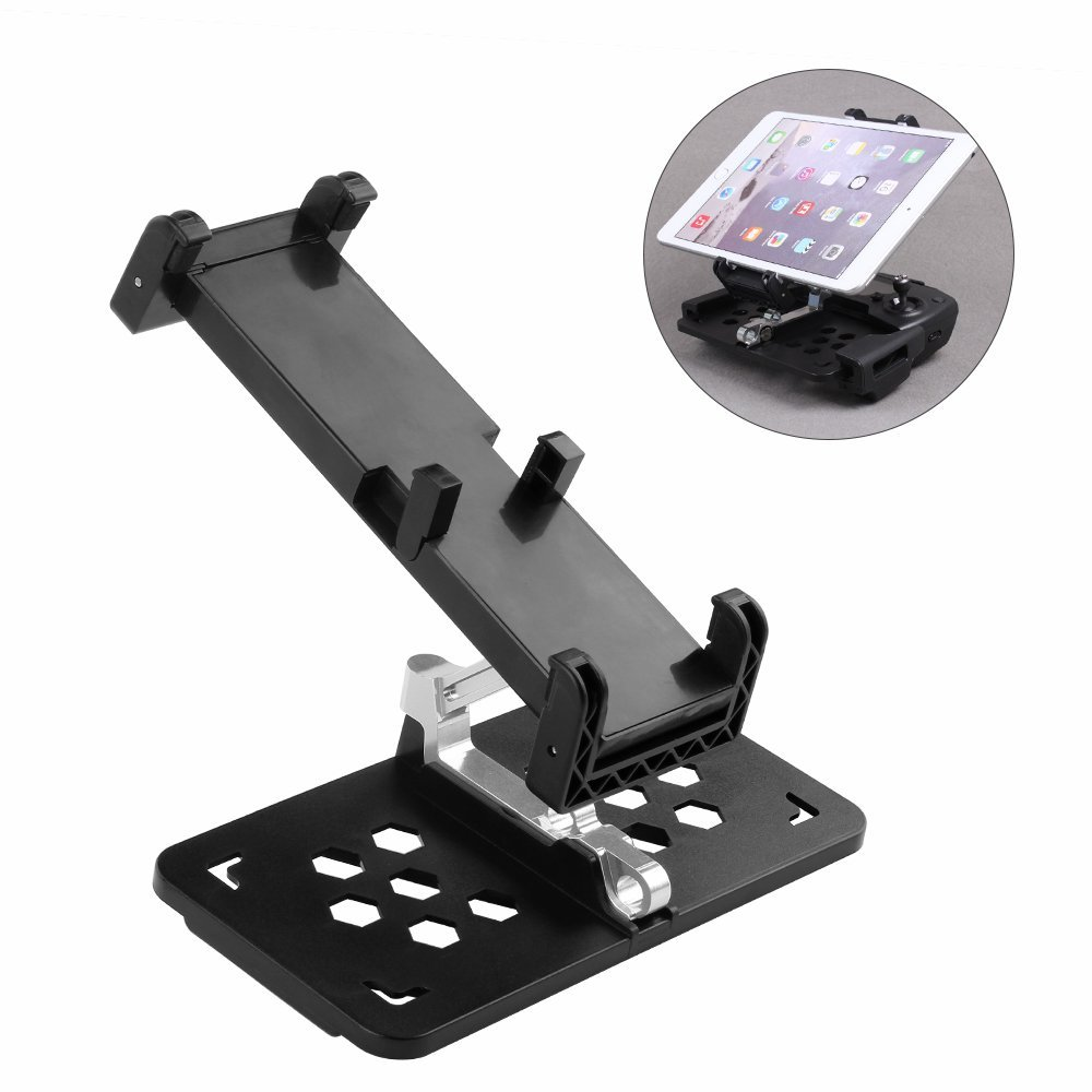 Extended Foldable Clamp Mount Holder For DJI Mavic Pro Spark Remote Control to Clip Bigger than
