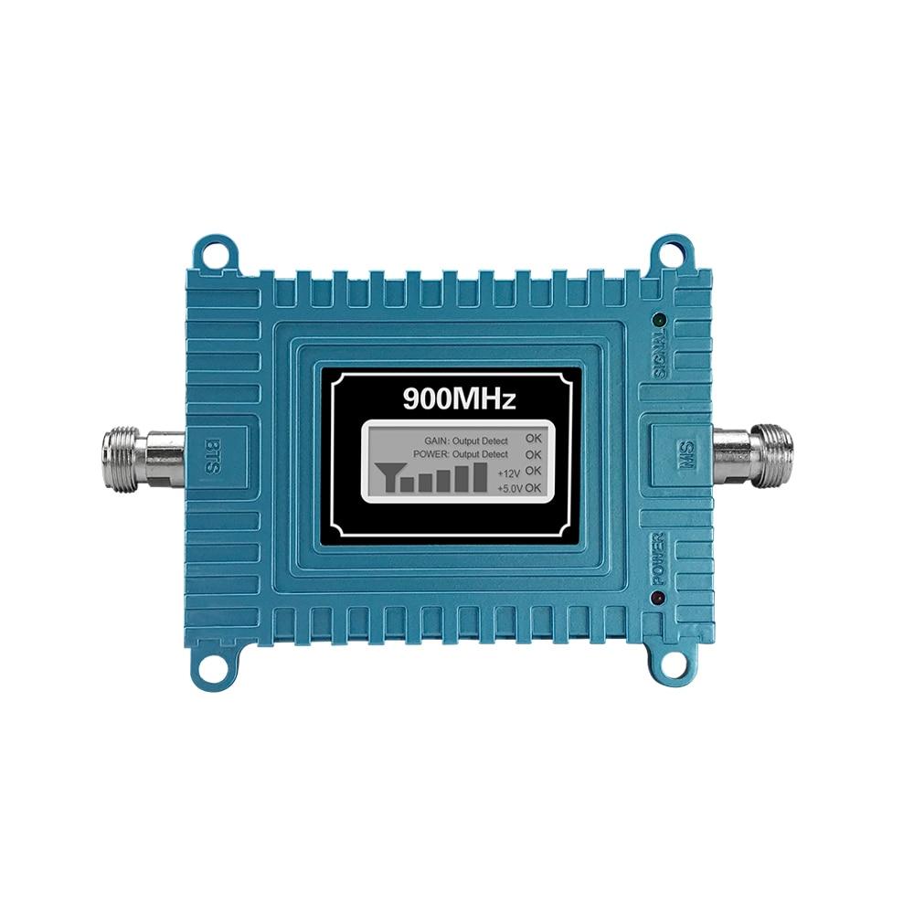 Walokcon 65dB Gain GSM répéteur 900 mhz GSM Signal Booster Mobile cellulaire amplificateur GSM 900 Yagi antenne ensemble Beeline Home Office - 6