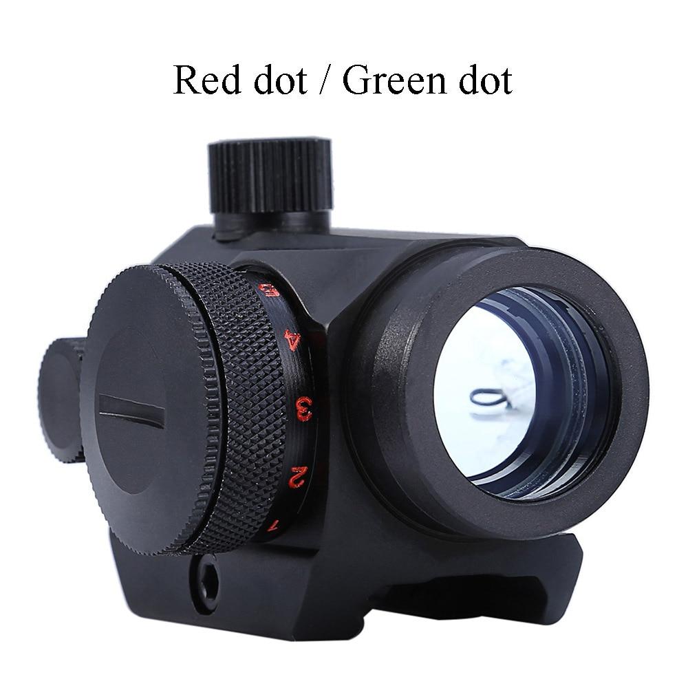 3-9X40 Mira telescópica reflectante de punto rojo 3 en 1 con cola de - Caza - foto 5