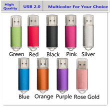 USB 2.0 Flash Drive 64GB Pendrive 32GB 16GB 8GB 4GB External Memory Stick USB Disk Clef USB Pen Driver Personalized Gifts