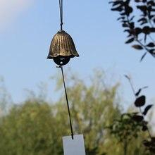 Японский Намбу чугунный ветровой колокольчик фэн шуй золотые