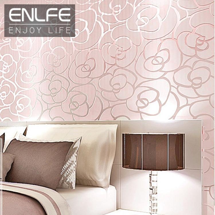 Enlfe moderna murales dimple fiore in rilievo non tessuto carta da ...