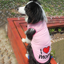 Cotton Dog Vest for Big Dog Clothes