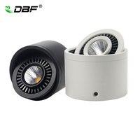KOLBY DOPROWADZIŁY Zagłębiony Downlight Ściemniania 5 W 7 W 9 W 15 W Powierzchni LED zamontowane Lampy Sufitowe LED Spot Light 360 Stopni Obrót Downlight