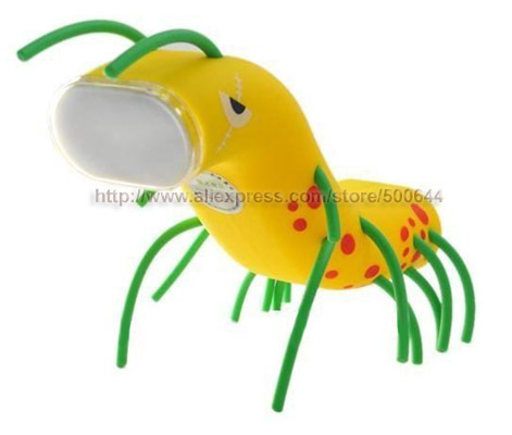 Unique Novel Bugs Eye Lamp with Touch Switch LED Energy Saving Light Table Lamp & 20PCS/Lot DHL/UPS/FEDEX/EMS Free Shipping