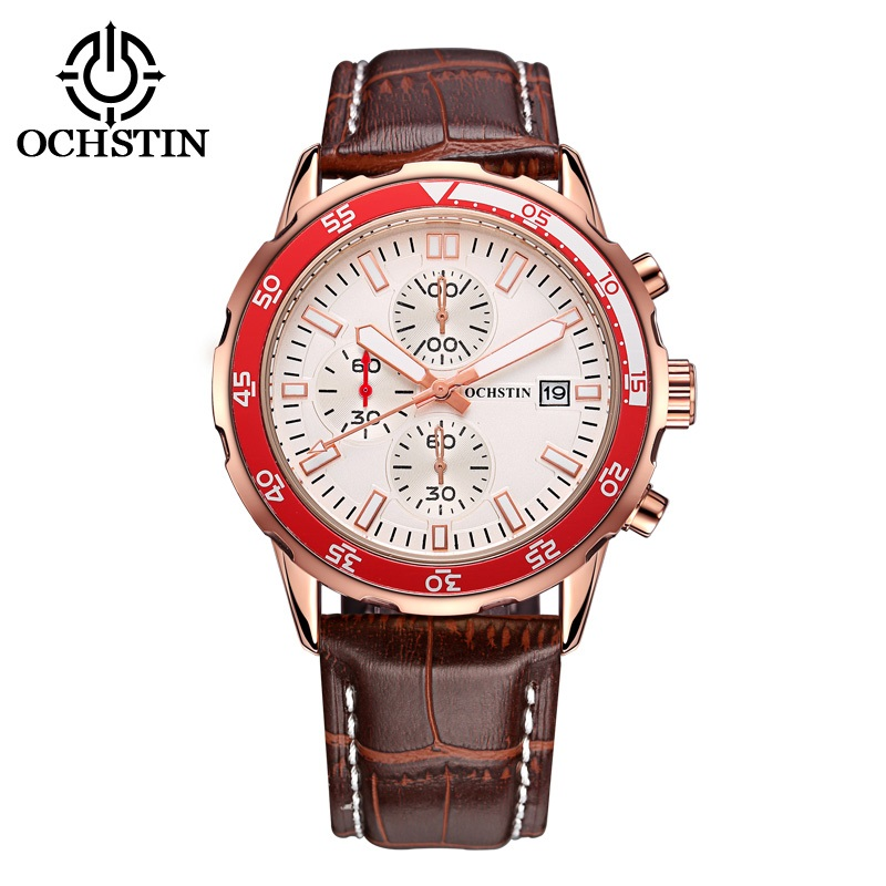 Relogio Masculino OCHSTIN Top Brand Luxury Famous Fashion Quartz Watches Men Military Sport Watch Quartz-watch Male Clock 2017 2017 ochstin luxury watch men top brand military quartz wrist male leather sport watches women men s clock fashion wristwatch
