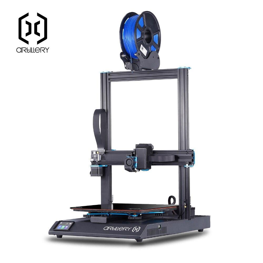 Artilharia sidewinder x1 3D SW-X1 Impressora Desktop nível imprimante 3d pro 300*300*400mm tamanho Suporte USB e tela de Toque do cartão do TF