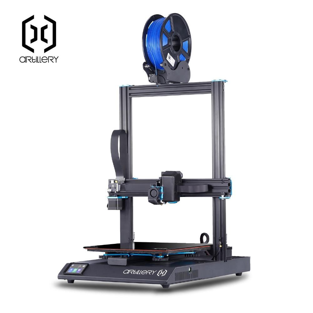 Artillerie sidewinder x1 3D imprimante SW-X1 de bureau niveau imprimante 3d pro 300*300*400mm taille prise en charge USB et TF carte écran tactile