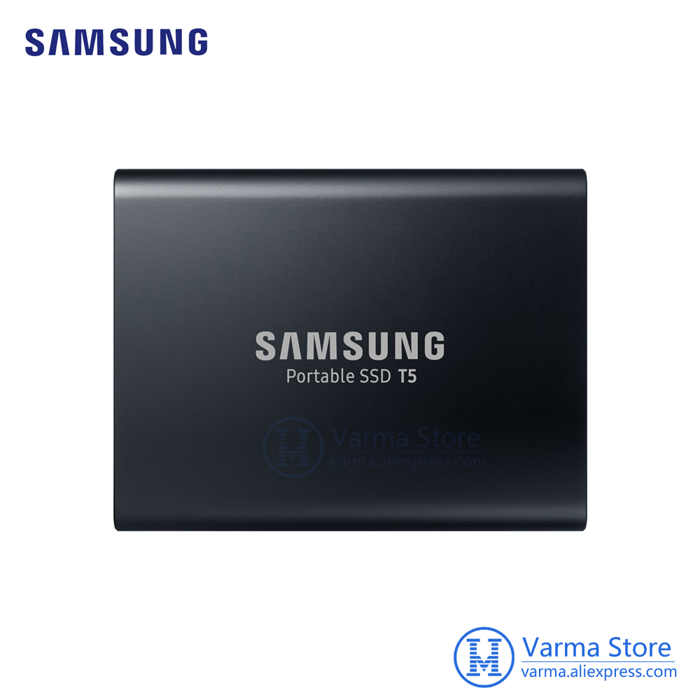 Samsung Mobile SSD T5 2TB Hi Speed USB3.1 External SSD Encryption T5 2TB PC Mobile dual use-in External Solid State Drives from Computer & Office    1