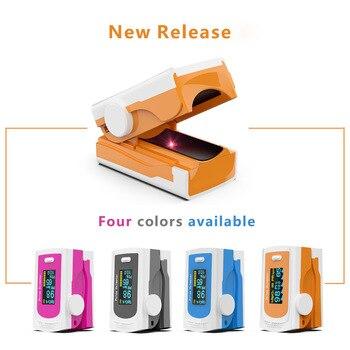 Household Health Monitors Oximeter CE Medical Heart Rate Monitor LED Fingertip Pulse Oximeter Finger Blood Oxygen