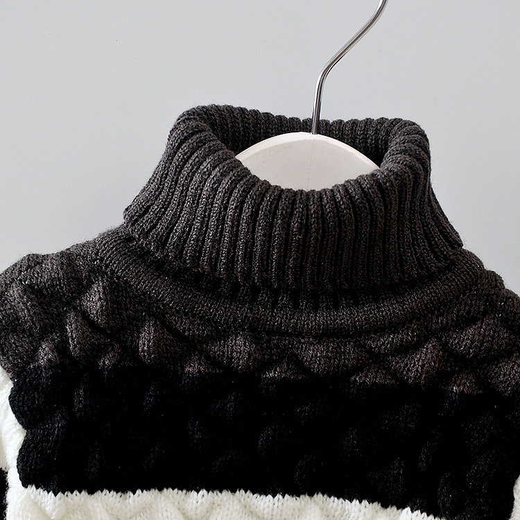 Autumn-Winter-Baby-Girls-Boys-Cotton-Striped-Long-Sleeve-Turtleneck-knitting-Sweaters-Tops-2