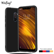 For Xiaomi Pocophone F1 Case Soft Rubber Matte Protective Phone Case F