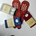 4 Pares/lote Meias Crianças Mini Vestir Meias Socken Raposa Crianças Joelho Alta Meias Urso Para Meninos Da Criança Meninas chaussettes de bebe