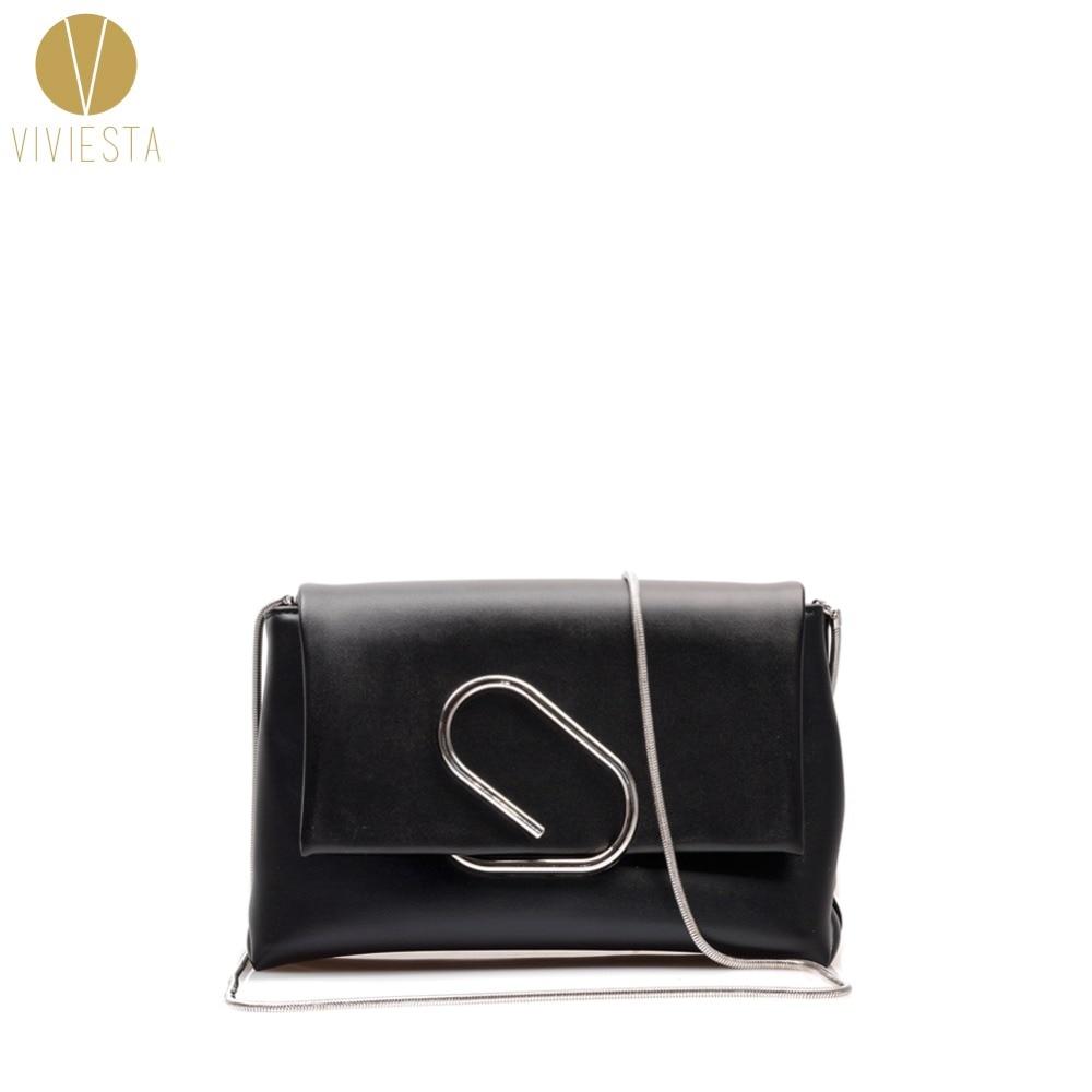 BENT PAPER CLIP שרשראות ACROSS BAG נשים 2019 מעצב - תיקי יד