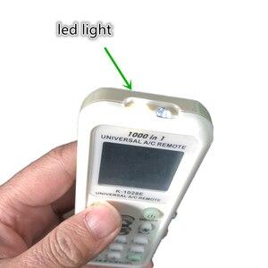 Image 5 - Хорошее качество, универсальное устройство для кондиционирования воздуха, цифровой пульт дистанционного управления с ЖК дисплеем, модель CHUNGHOP K1028E