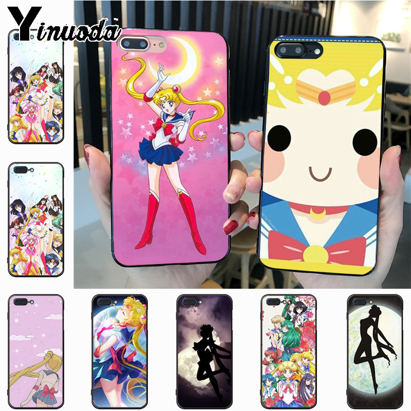 Phone Bags & Cases Intelligent Yinuoda Pretty Guardian Sailor Moon Cartoon Diy Painted Beautiful Phone Case For Iphone 7plus X 6 6s 7 8 8plus 5 5s Case An Enriches And Nutrient For The Liver And Kidney