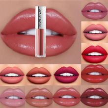 HANDAIYAN 12 Colors Moisturizer Lip Gloss Velvet Matte Lasting Moisturizing Lipstick Glaze Waterproof Volume Tint