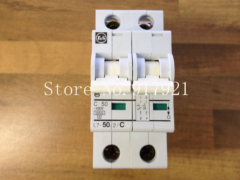 [ZOB] The original German MOELLER Moeller L7-50/2/C imported miniature circuit breaker 50A2P air switch --5pcs/lot [zob] muller moeller eaton l7 16 2 d breaker 2p16a d16a genuine original 5pcs lot