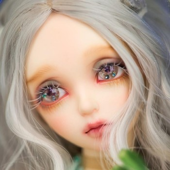 New 1/4  BJD Cute Dolls Model Girls Boys High Quality Eyes Toy Store Resin Figures model (with sleep face)