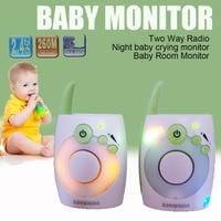 D1020 New 2.4Ghz Wireless Digital Baby Monitor Audio Radio Nanny Baby Phone Monitor KidsToys Mini Walkie Talkie Baba Eletronica