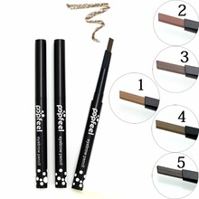 Brand New 1pcs Automatic Eyebrow Pencil Makeup 5 Style Paint For Eyebrows Cosmetics Brow Eye Liner Tools Brow Pencil