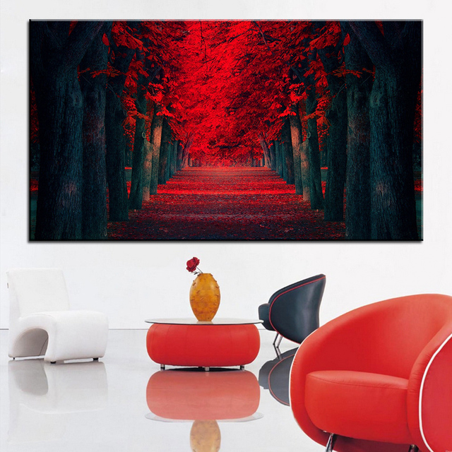 Large Size Printing Oil Painting Dreamlike Wall Painting Decor Wall Art  Picture For Living Room Painting