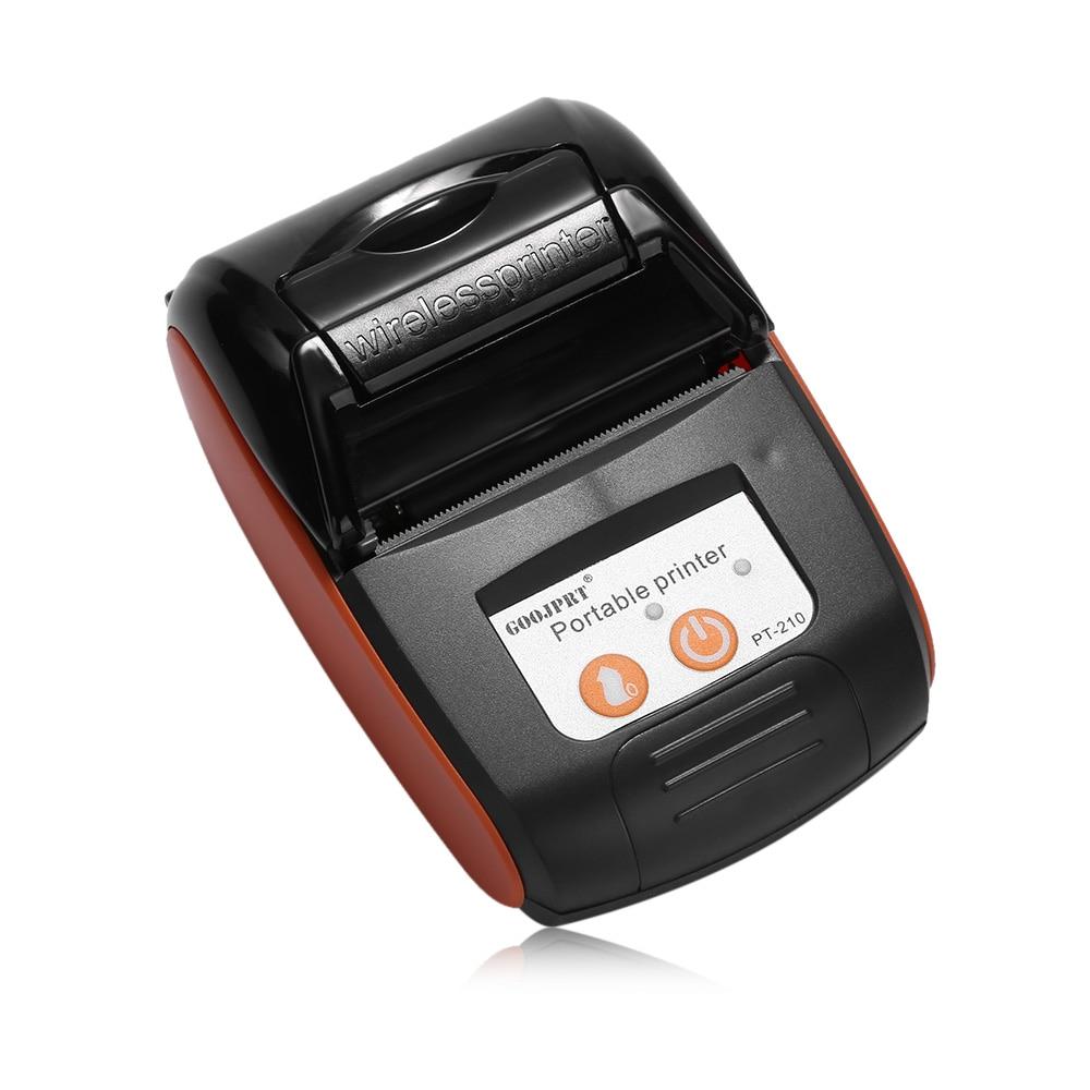 Free Loyverse POS for Android Phone Bluetooth Printer Wireless Receipt bill  Thermal Printer 58MM Mini Portable pocket Printer