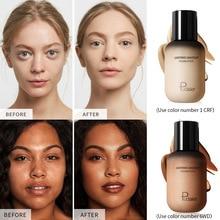Pudaier матовая отделка макияж 40 мл Профессиональный консилер водонепроницаемый натуральный косметический основа для лица крем Основа макияж