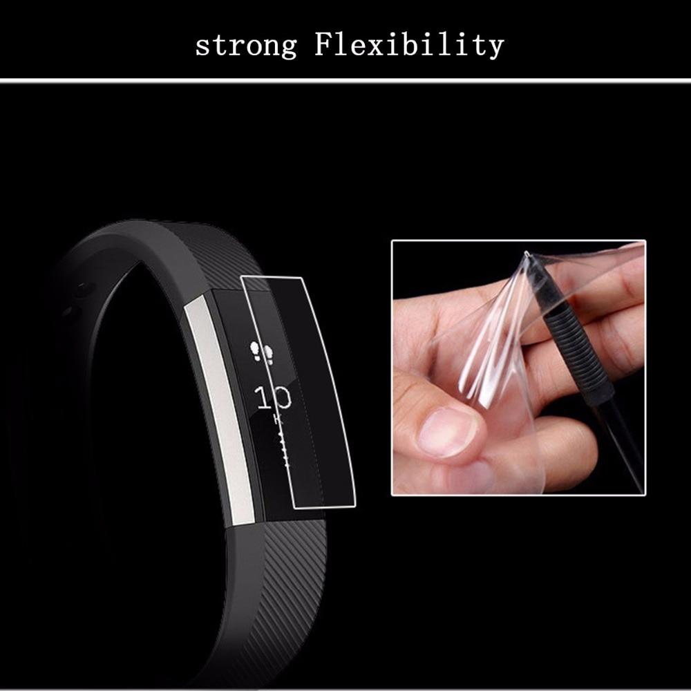 1PC/3PC/5PC For Fitbit Alta Protector Film Ultrathin AntiExplosion Screen Protector Film For Fitbit Alta Smart Wristband Strap