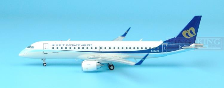 XX2932/XX2933 Taiwan: JC seckill Wings China Airlines ERJ-190 1:200 commercial jetliners plane model hobby spike wings xx4502 jc turkey airlines b777 300er san francisco 1 400 commercial jetliners plane model hobby