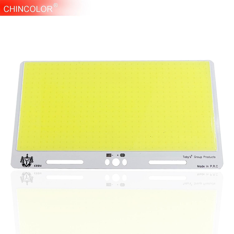 COB LED Bulb Lamp Light 200W Strip Source Chip Pure White DIY Car Outdoor Lighting LED Flood Light DC12V 14V 220*120MM JQ