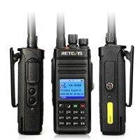 מכשיר הקשר ניו Retevis RT83 10W DMR דיגיטלי מכשיר הקשר (GPS) IP67 Waterproof מכסים נגד אבק UHF Portable שני הדרך חובב רדיו + תוכנית טלוויזיה (3)