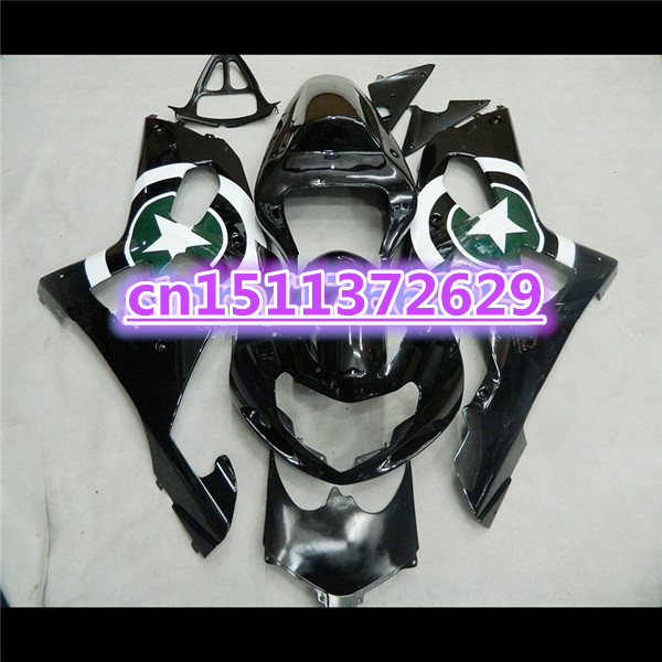 Fairing kit for A GSXR1000 00 01 02 <font><b>GSXR</b></font> <font><b>1000</b></font> GSX-R1000 K2 2000 2001 <font><b>2002</b></font> white black Fairings kit-Dor for <font><b>SUZUKI</b></font> D image
