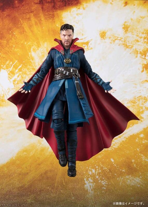 New Arrival SHF Avengers Doctor Strange Super Hero 15cm BJD Action Figures Toys for Marvel Fans Children Gift