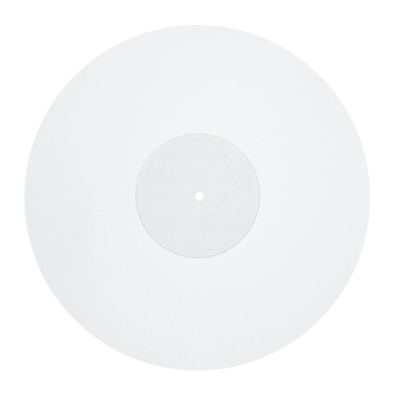 12 Inch 3MM White Acrylic Record Pad Anti static LP Vinyl Mat Slipmat for Turntable Phonograph Accessories|Turntables| |  - title=