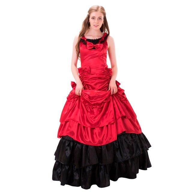Belle robe de soiree rouge