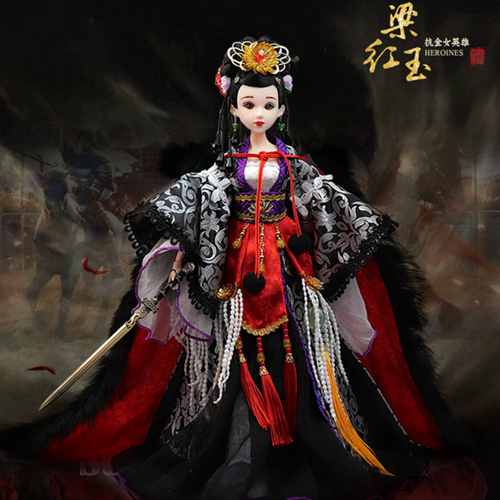 купить Fortune Days East Charm ancient costume doll 1/6 like BJD Blyth dolls Liang Hongyu with makeup 14 Joint body High Quality gift по цене 4538.83 рублей