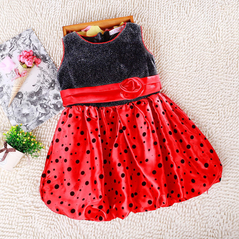 4b0e2816fb11a High Quality New Brand 2015 Fashion Sequin And Point Baby Girl Dress,With  Big Flower,Rose red/Red/Beige/White,Party Dresses-in Dresses from Mother &  Kids on ...