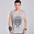 2016 marca masculina clothing gordura solta respirável ao ar livre exercício do jogo camisa assentamento colete regata homens clothing plus size