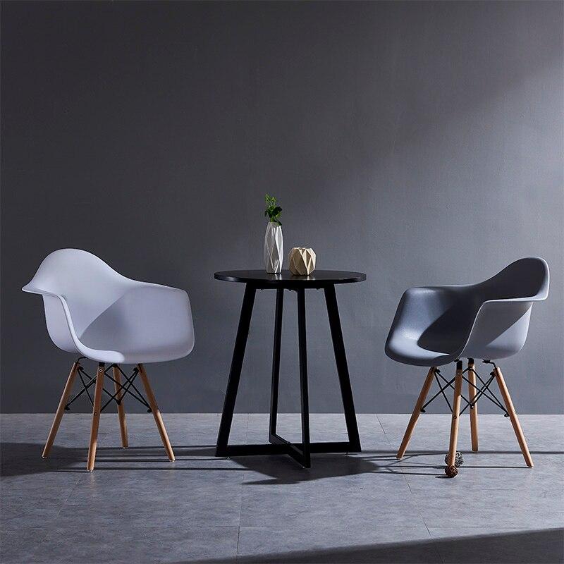 Armsteun Eetkamerstoel Mode Stoel Nordic Casual Koffie Winkel Stoel Eenvoudige Moderne Home Designer Stoel