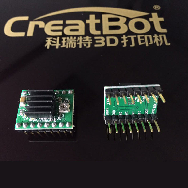 Creatbot 3d imprimante machine pilote 6032 silence pilote usine vente directe