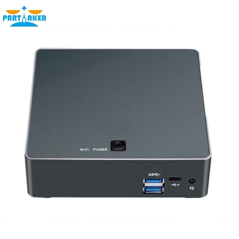 Image 5 - Partaker Nuc Mini PC i7 8550U Quad Core Windows 10 Pro DDR4 Max 16GB AC Wifi Mini Computer HD Typc C-in Mini PC from Computer & Office