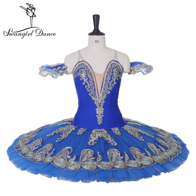Latest Ramonda blue swan lake nutcracker ballet tutu costumes blue bird ballet tutu don Quijote professional tutu  BT9163