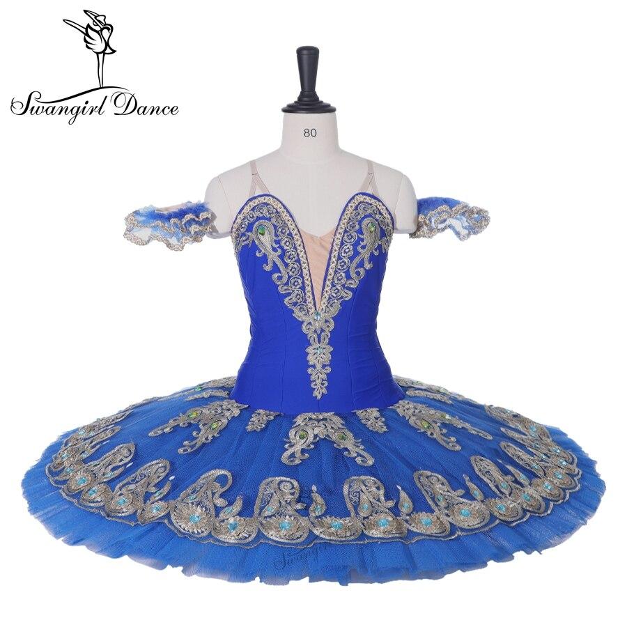 Ultime Ramonda blu lago dei cigni schiaccianoci balletto tutu costumi uccello blu tutu di balletto don Quijote professionale tutu BT9163
