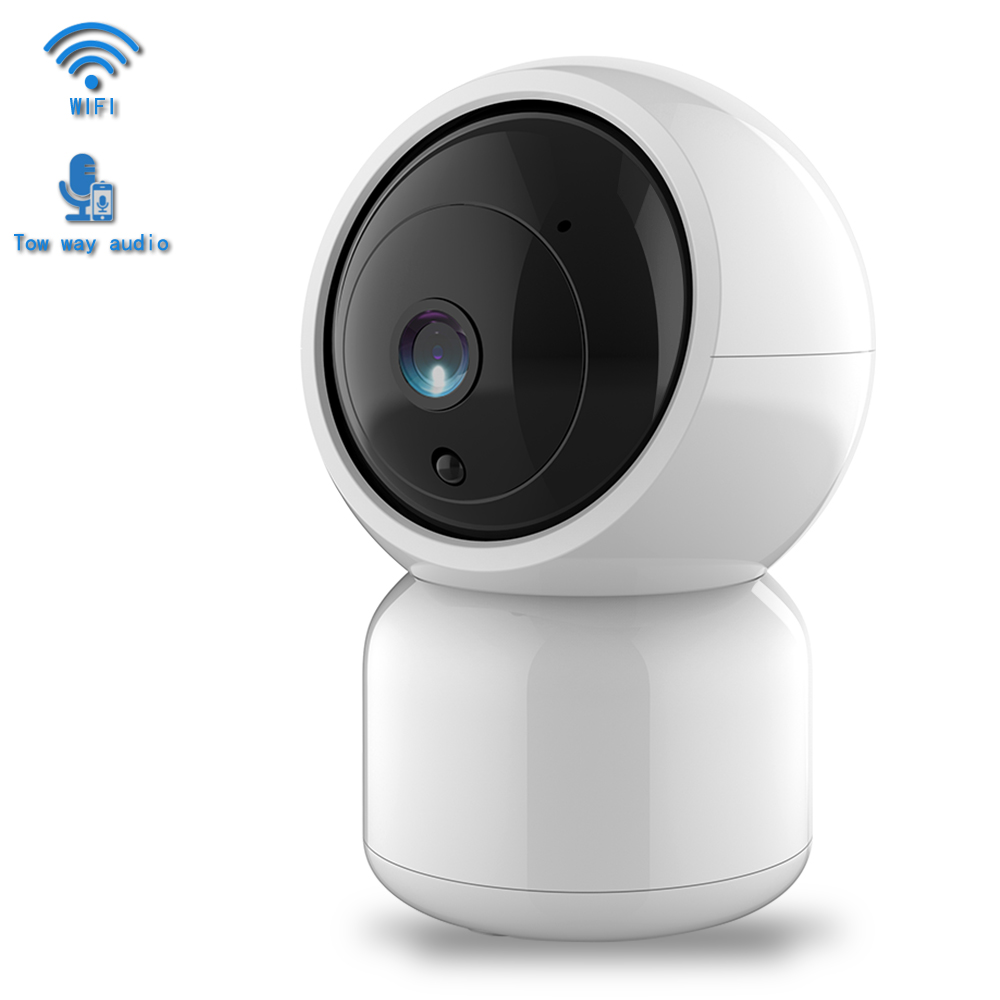 1080P FHD IP Camera WiFi PTZ Home Security Camera Two Way Audio 20m IR Night Vision Motion Detection Alarm Surveillance Camera