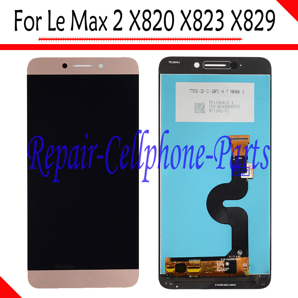 5.7 pouce 100% Nouveau LCD Full DIsplay + Écran Tactile Digitizer l'assemblée Pour LeTV Le Max2 Max 2X820X823X829 Livraison gratuite