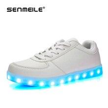 2015 últimas led luminoso de alta calidad directo de fábrica usb light up Skateboarding Shoes for Women & Men 563