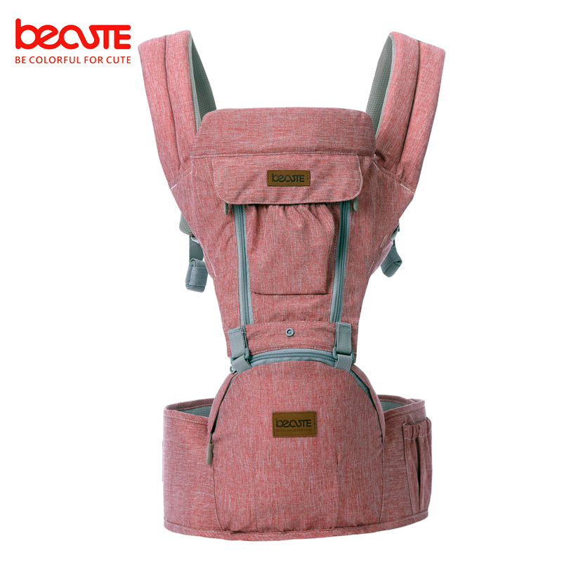 Becute Breathable Baby Carrier hip seat Facing 3 in 1 Infant Comfortable Sling Backpack Pouch Wrap Baby Kangaroo New 0-36 Months