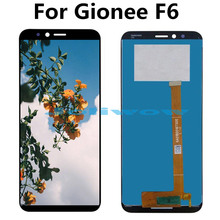 For Gionee F6 LCD Display +Touch Screen+tools Digitizer Assembly Replacement
